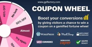 coupon wheel for woocommerce