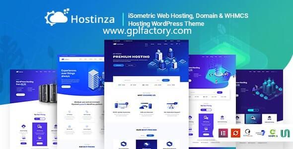 Hostinza hosting theme
