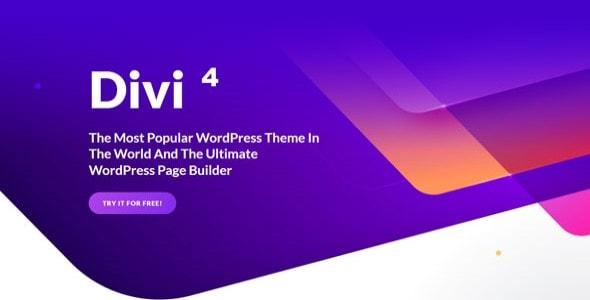 divi 4 wordpress theme