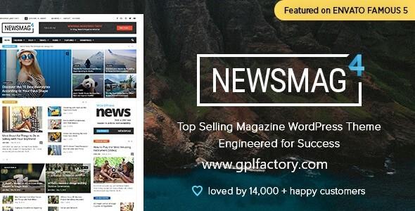 newsmag wordpress theme