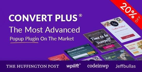 Convert Plus v3.5.6 - Popup Plugin