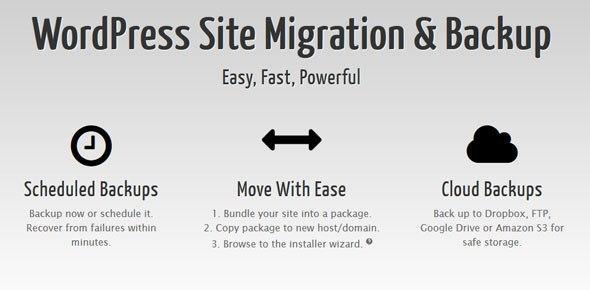 Duplicator Pro v3.8.8 WordPress Site Migration & BackUp Plugin