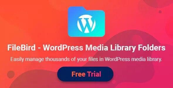 FileBird v3.9 WordPress Media Library Folders