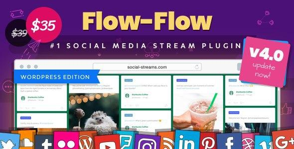 Flow_Flow WordPress Social Stream Plugin