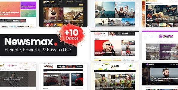 Newsmax v3.0 – Multi-Purpose News & Magazine Theme