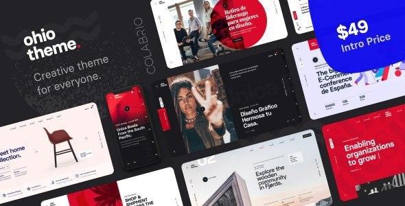 Ohio v1.0.6 – Creative Portfolio & Agency WordPress Theme