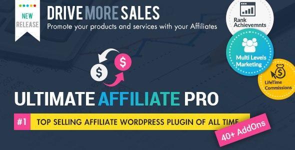Ultimate Affiliate Pro WordPress Plugin v6.0
