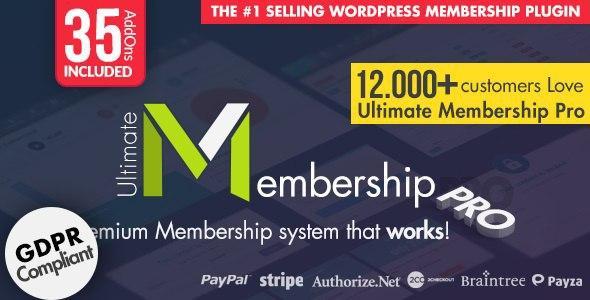 Ultimate Membership Pro WordPress Plugin v8.7