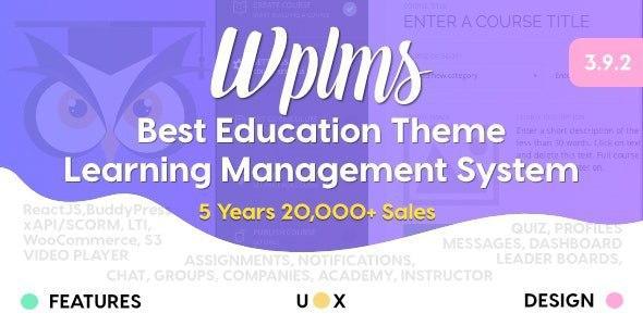 WPLMS v3.9.8 – Learning Management System for WordPress
