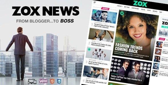 Zox News v3.3.1 – Professional WordPress News