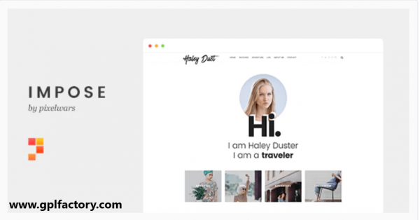 impose blog theme