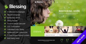 Blessing Responsive WordPress Theme For Chruch Websites