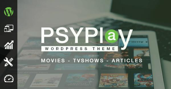 Psyplay WordPress Theme GPL