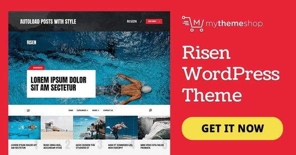 Risen-wordress-theme