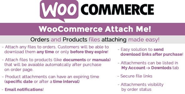 WooCommerce Attach Me GPL
