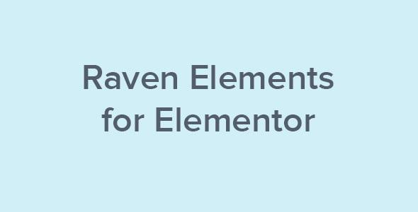 Raven Elements For Elementor