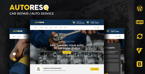 Autoresq - Car Repair GPL