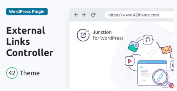 Junction External Links Controller for WordPress
