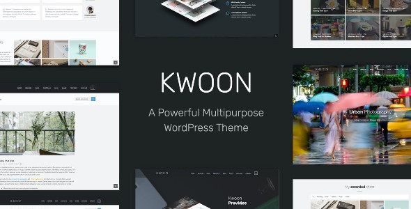 Kwoon - Multipurpose WordPress Theme GPL
