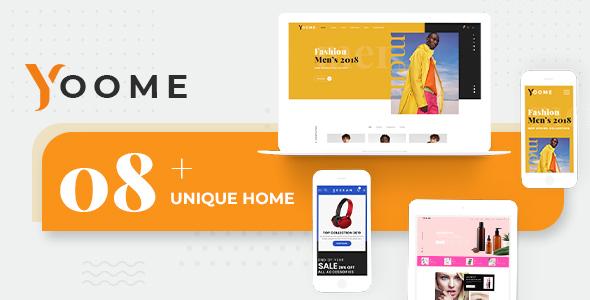 Yoome Modern WooCommerce WordPress Theme