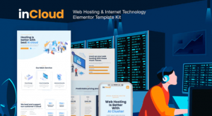 incloud web hosting company template