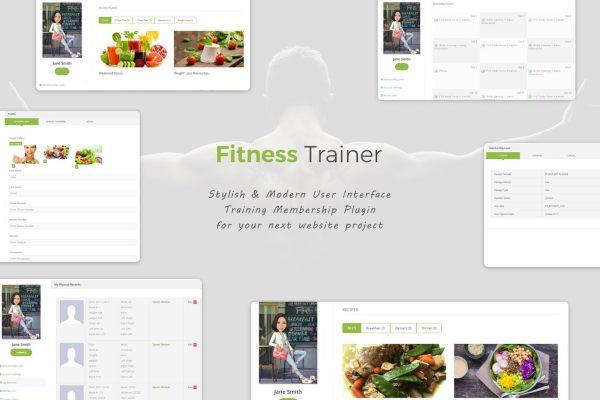 Fitness Trainer Training Membership Plugin
